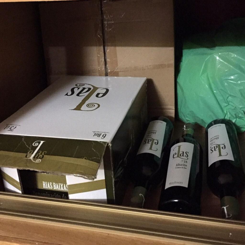 conservar vino albariño